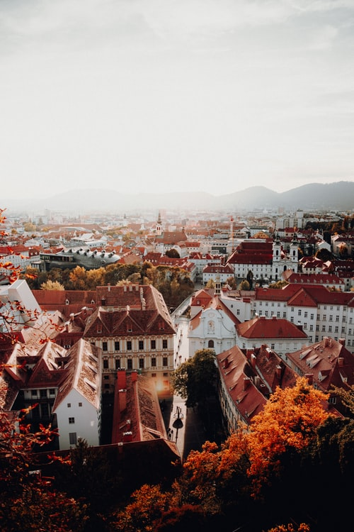 Historic city of Graz